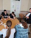 14 мая 2021 года команда МБОУ «СОШ №10» приняла участие в отборочном этапе районного интеллектуального турнира «Игры разума. Здоровый Образ Жизни»